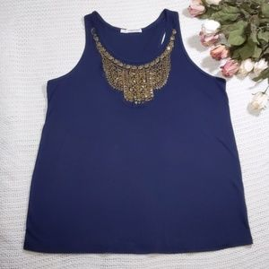 Maurices Blue Tank Top Size 1
